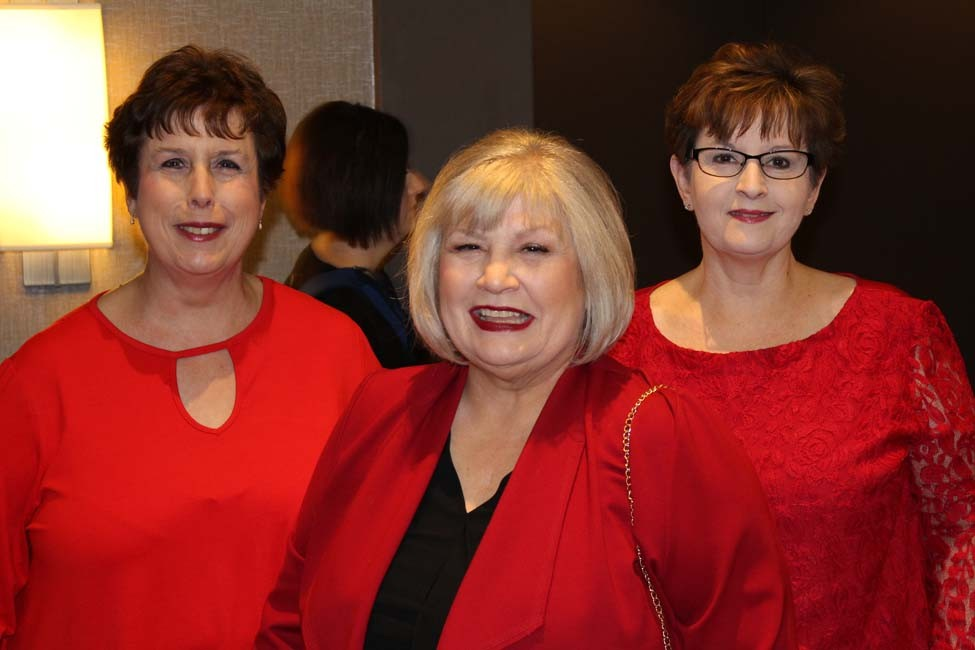 Joyce Kathley, Linda Garrett, Carolyn Degoyler