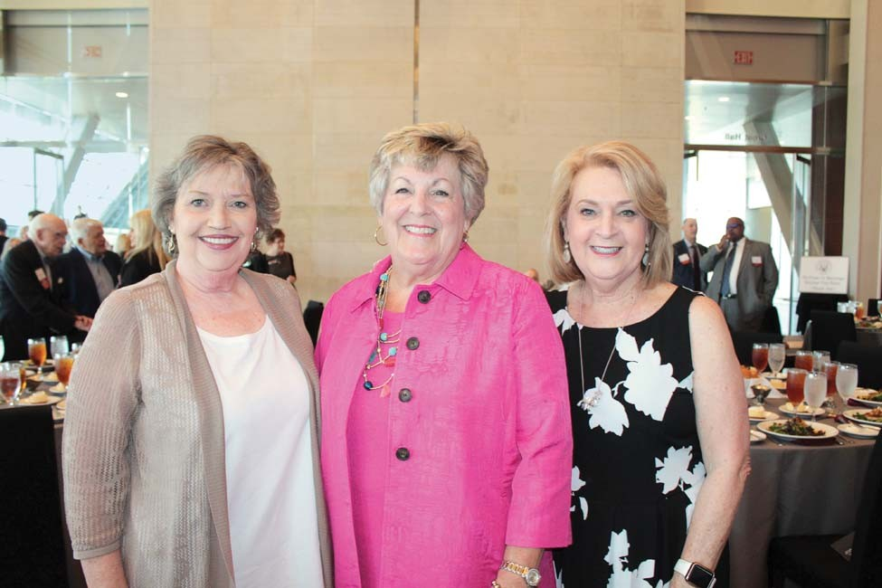 Mary Lou Ferguson, Mary Carolyn East, Linda Bennett