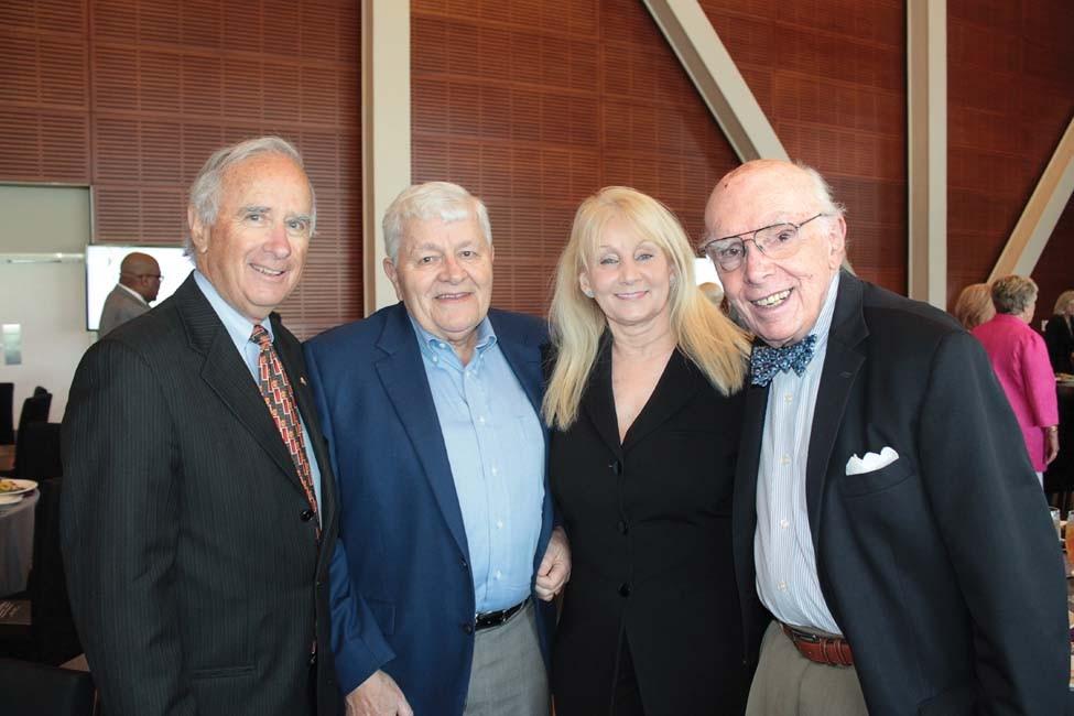Don Riggin, Jim and Sharon Newell, Kearney Dietz