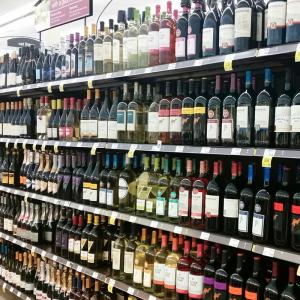 Grocery Sales of Wine Hit Liquor Stores