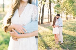 Melissa + Michael Little Rock Engagement