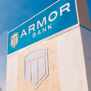 Armor Bank Moves Back Into the Black