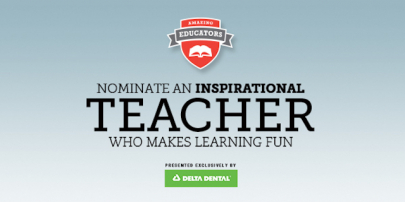 Nominate a Teacher for Our Amazing Educator Award