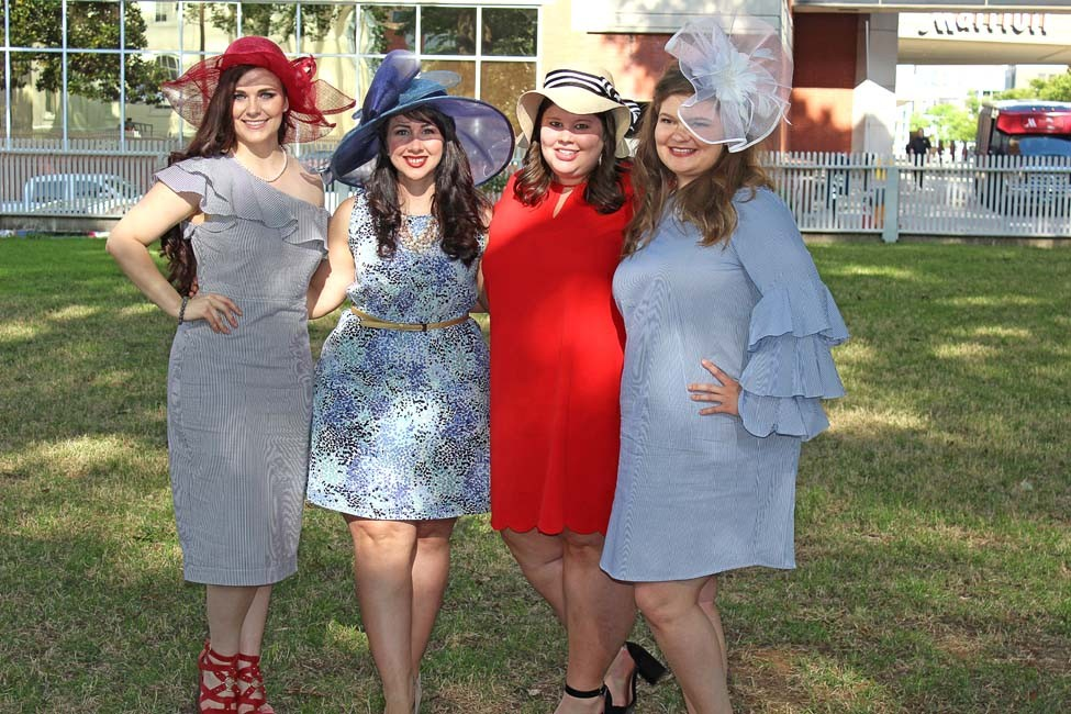 Arkansas State House Society Derby Day