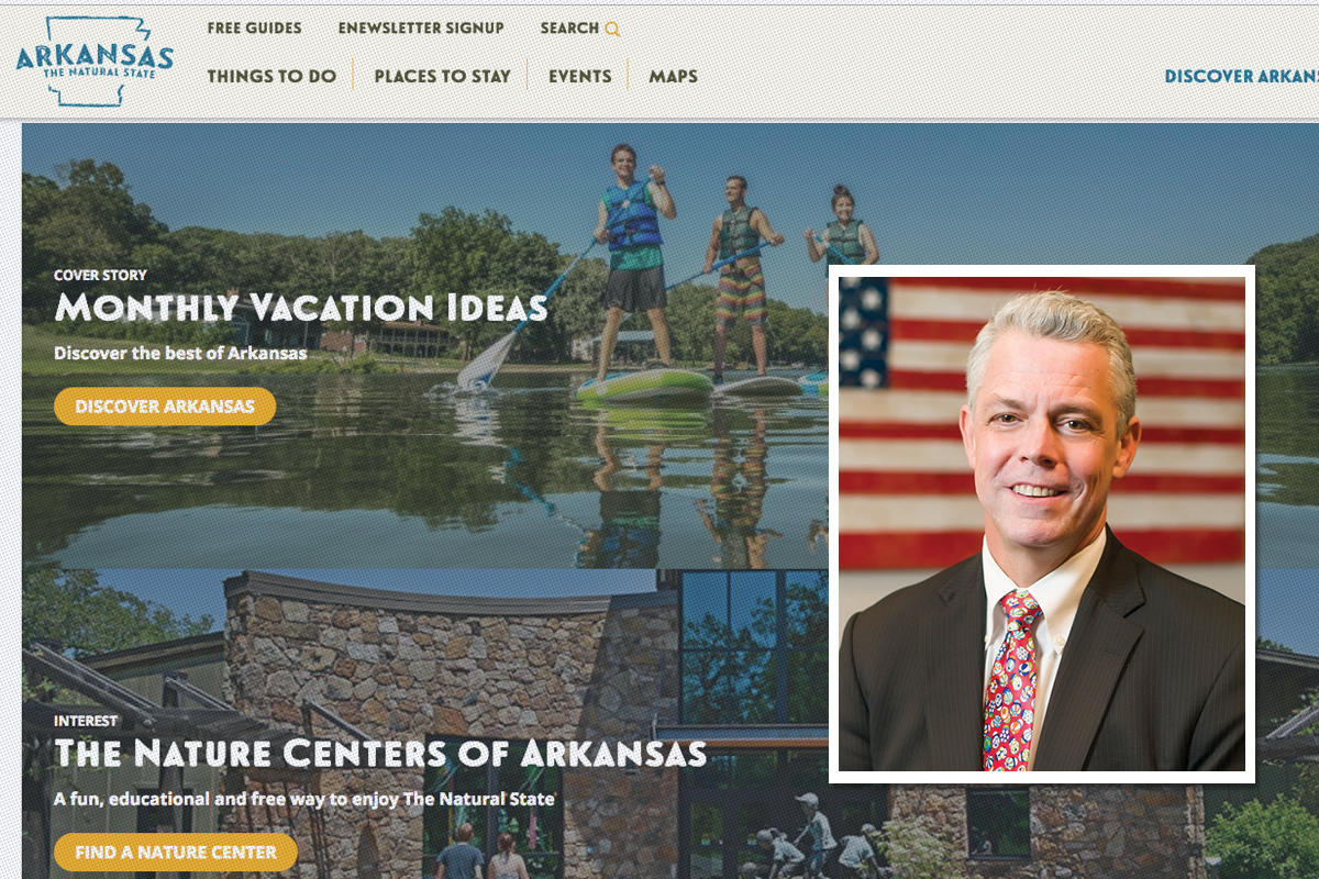 Arkansas Tourism Website Reborn, With Advertising