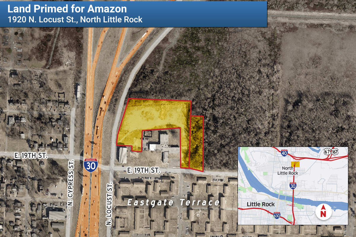 City: Amazon to Open Distribution Center In North Little Rock