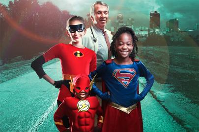 Superhero Event Raises Funds, Provides Hope for Kids at Arkansas Children's Hospital