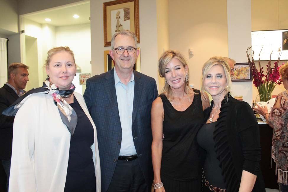 Judith and Tim Goodson, Dr. Caroline Ford, Karen Holderfield
