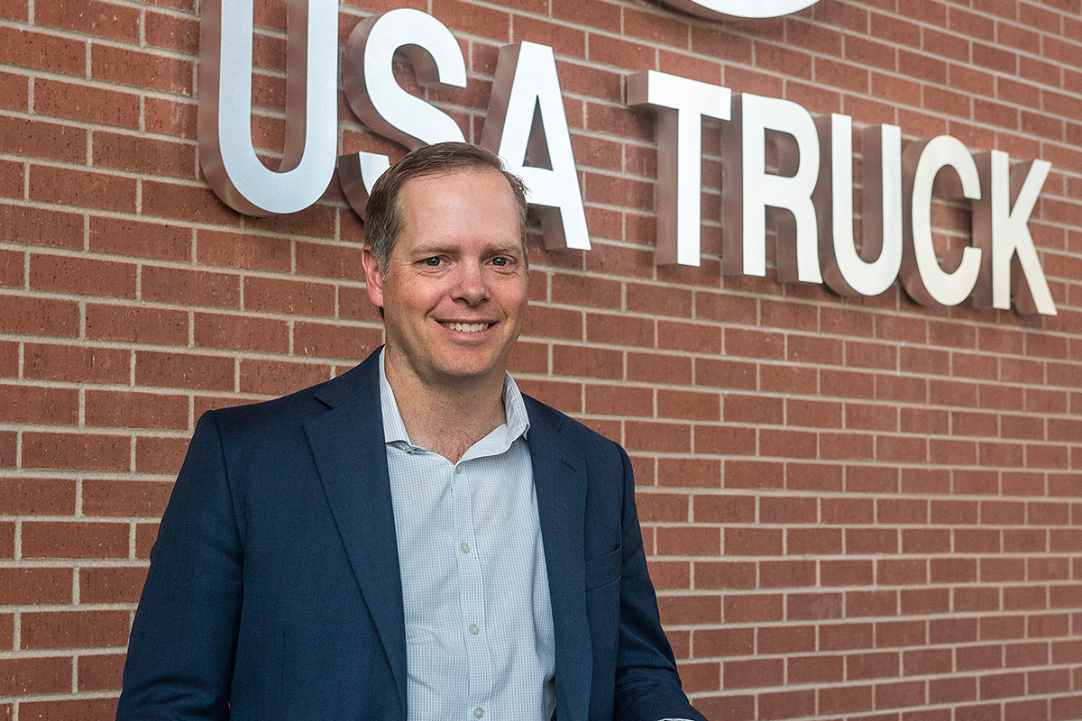 USA Truck CEO James Reed Confident of Better Days
