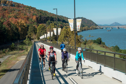 5 Spots to Cycle with Your Family This Fall