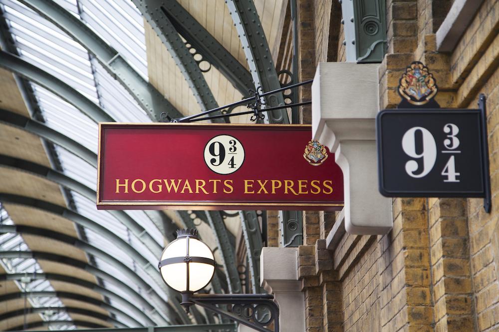 Harry Potter, Hogwarts Express, Platform 9 3/4