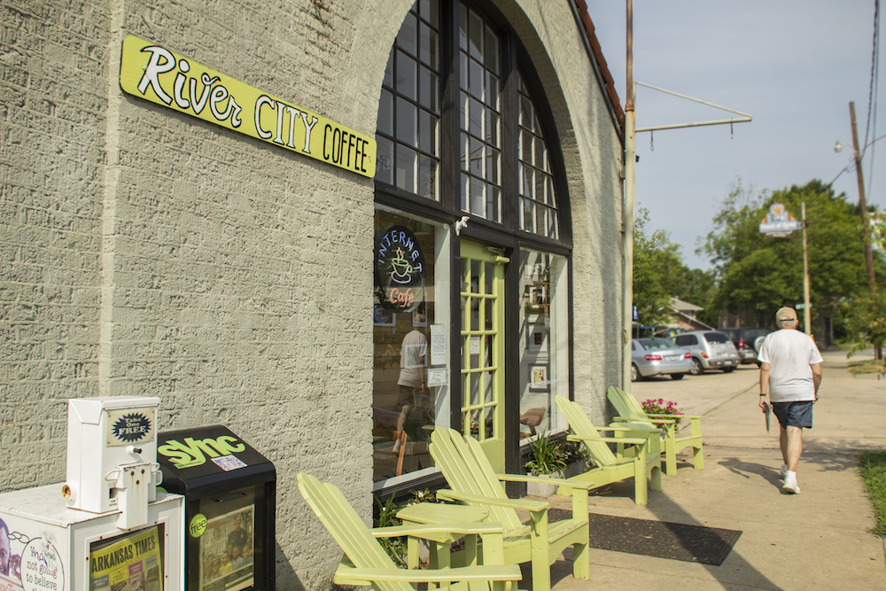 River City Coffee in Hillcrest neighborhood, Kavanaugh