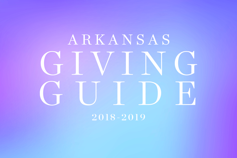 Arkansas Giving Guide 2018-2019 title page