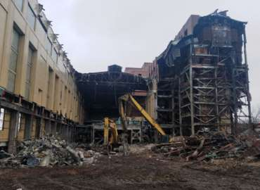 FirstEnergy Lake Shore Power Plant Demolition