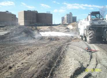 Former Broadway Commons Site Remediation