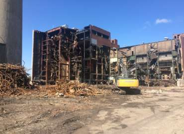 Dairyland Alma Power Station Demolition