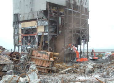 Edgewater Power Station Demolition