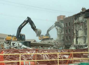 South Dakota Veterans Home Demolition