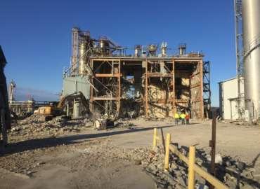 INEOS Barex Facility Demolition