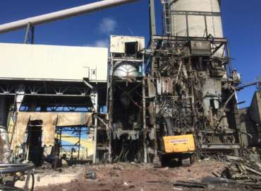 BHP Neil Simpson 1 Plant Demolition