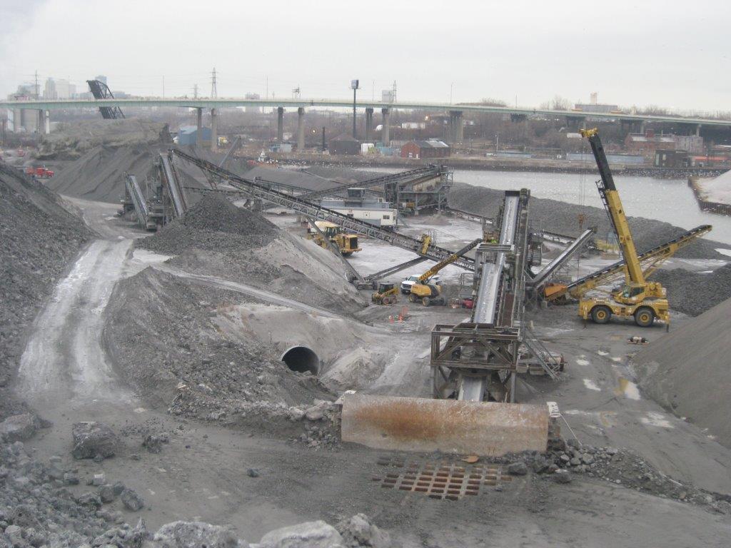 Stein/Lafarge Slag Processing at Mittal Steel