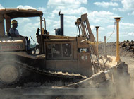 GPS allows our dozer and grader operators to work within a 1/2-inch tolerance