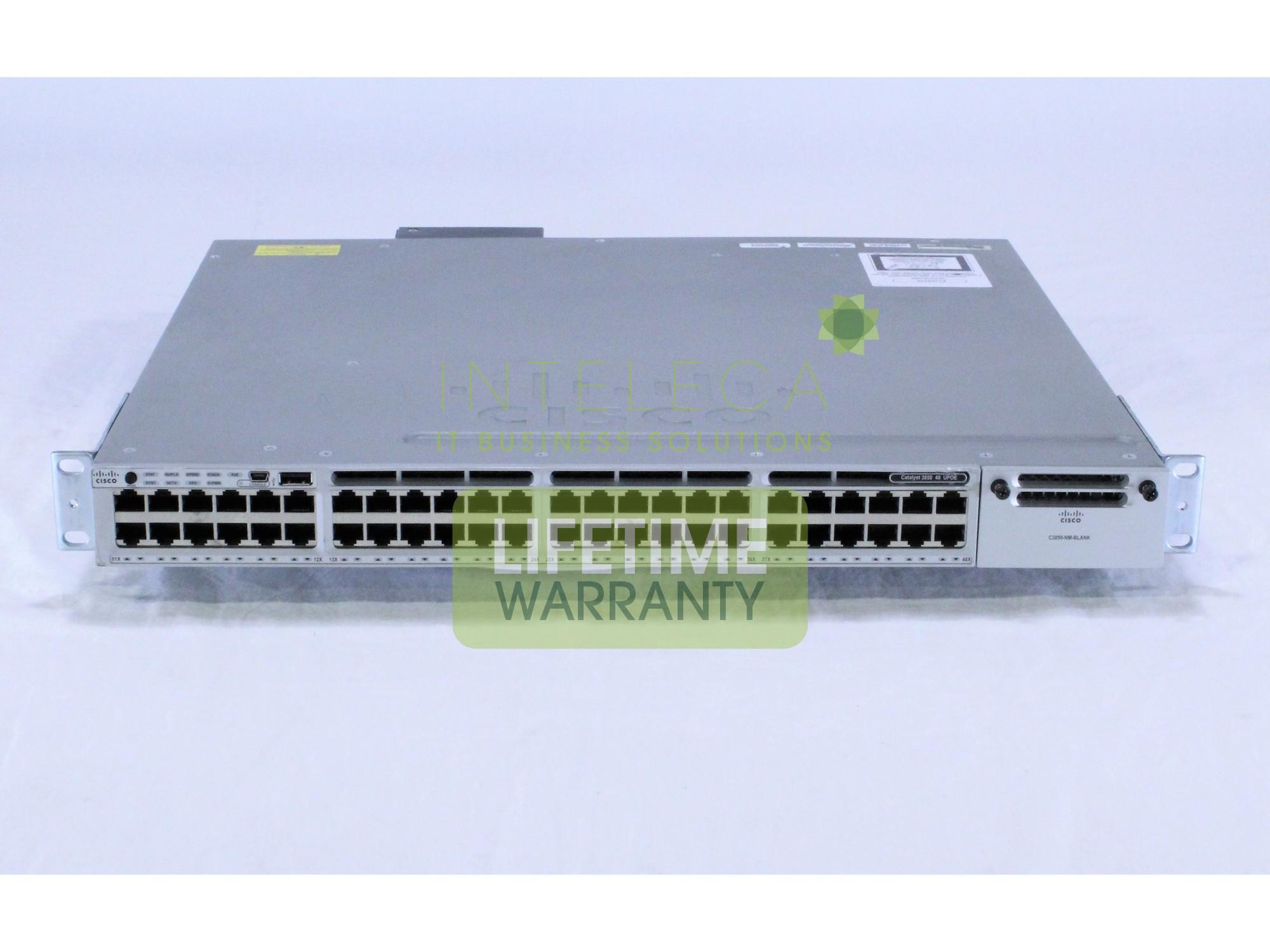 Details about CISCO WS-C3850-48U-L Catalyst 3850 48 Port UPOE LAN Base