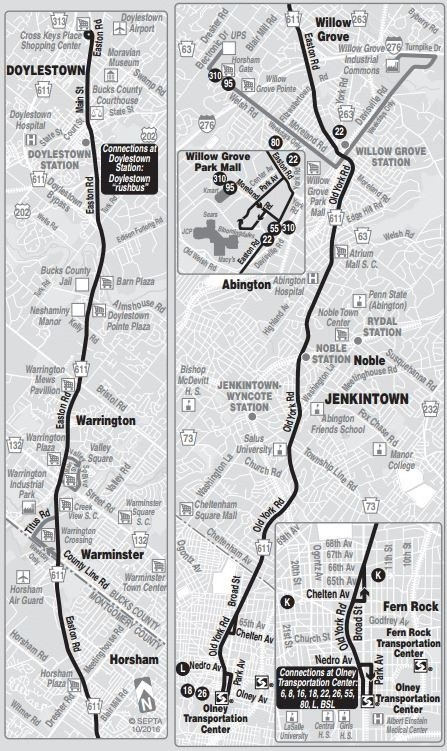 Route of the Week - 55 | SEPTA on berlin bus map, wmata bus map, ac transit bus map, philadelphia bus map, coach usa bus map, boston bus map, chicago bus map, smart bus map, ride on bus map, nj transit bus map, center city bus map, cleveland rta bus map, mbta bus map, vre bus map, metro bus map, kennedy plaza bus map, vancouver bus route map, bart bus map, short line bus map, sf bus map,