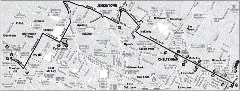 Route Of The Week 77 Septa