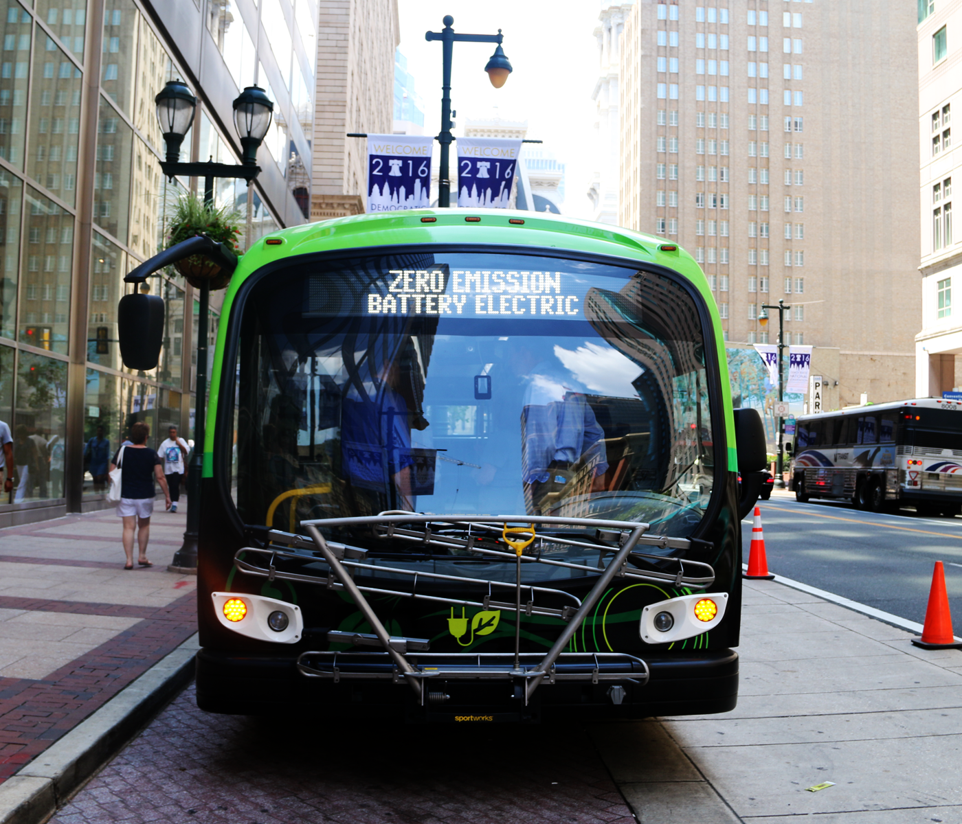 Route Of The Week Proterra Electric Bus Septa