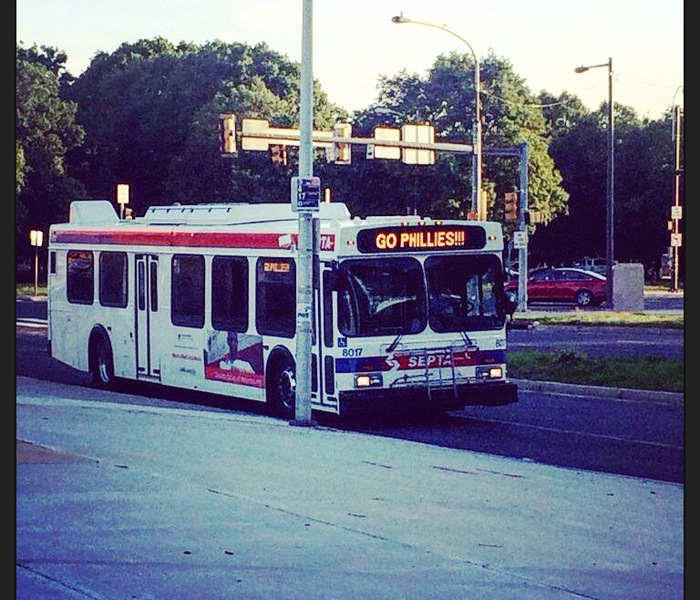 Go phillies bus route 17 ig