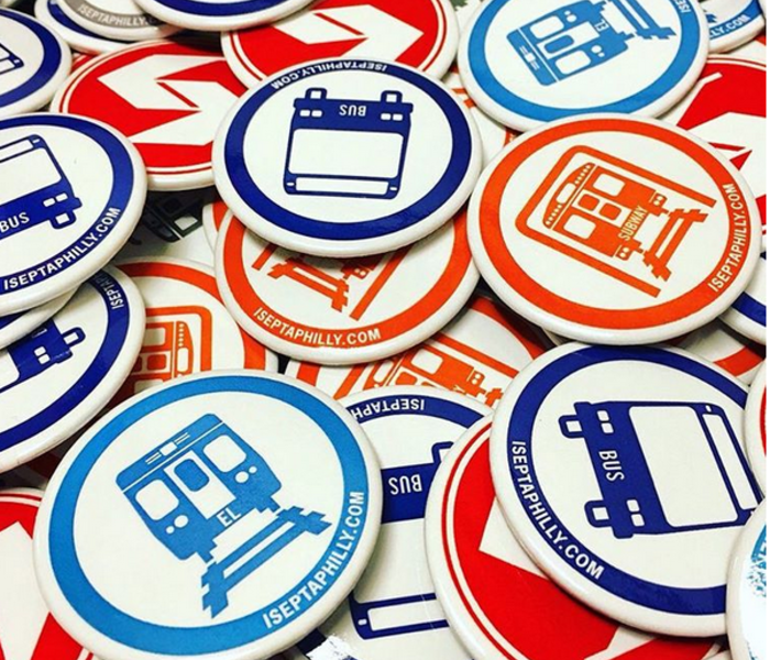 Buttons service pins transit