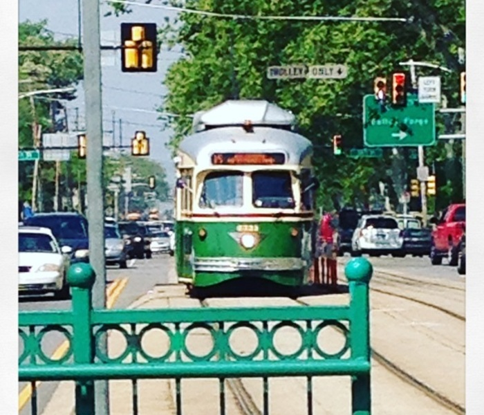 Route 15 trolley
