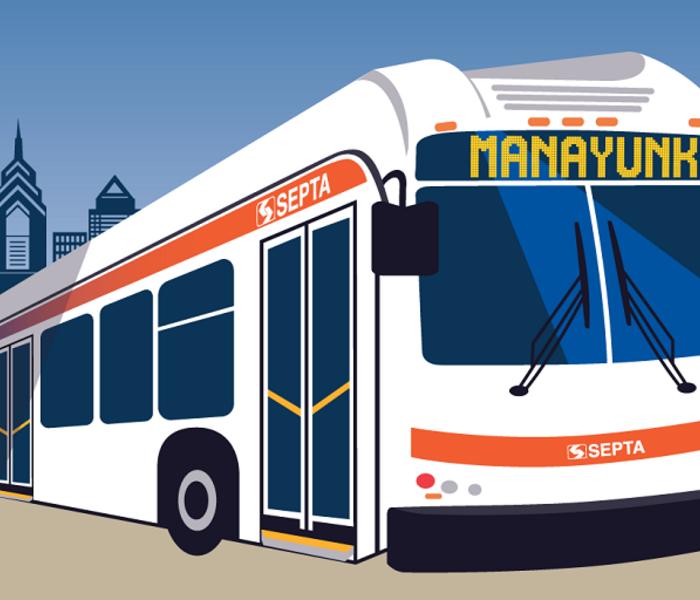 Bus manayunk tw
