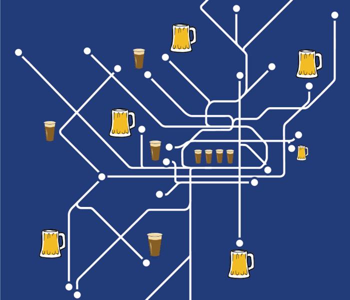 Philly beer week 2018 map