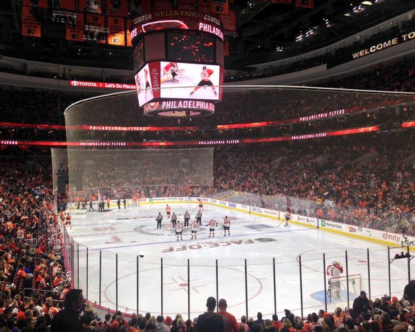 Flyers wells fargo center