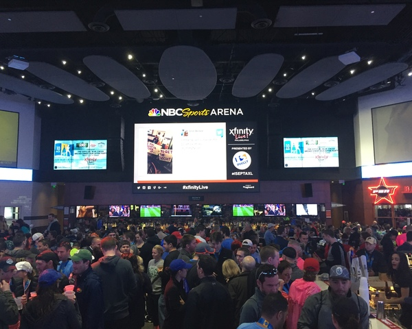 Xfinity live bsr party