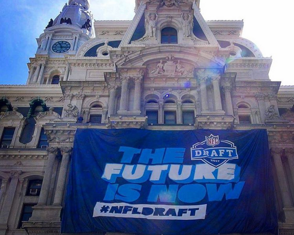Nfl draft city hall
