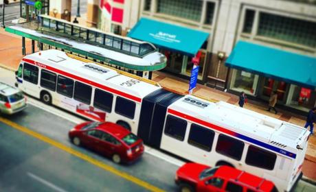 Bus   cars ig