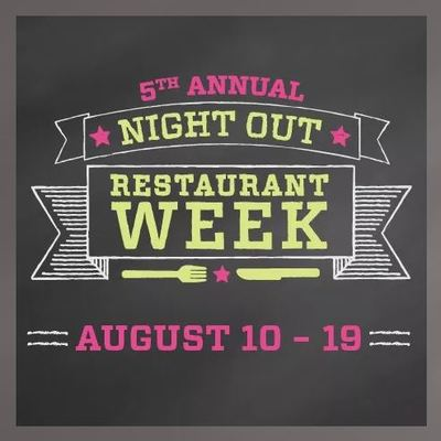 Night out restauarant week 2018