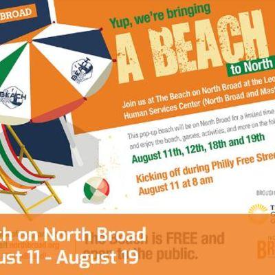 Beach on north broad