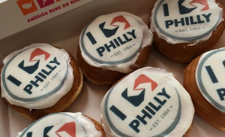 Iseptaphilly dunkin donut