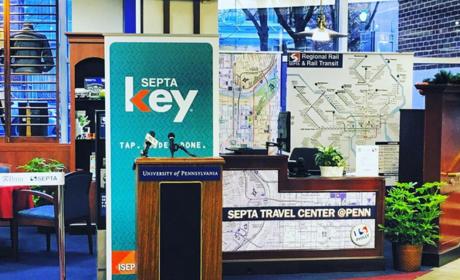 Septa transit center at penn ig