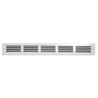 1400W Stamped Return Air Grille | Jedco Supply