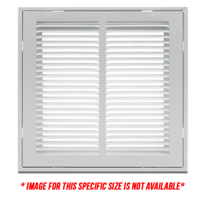 24X6 1410FW Filter Grille - Opening Size 24x6 - Overall Size 26 875