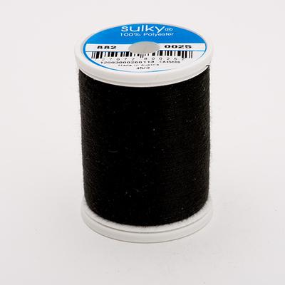 Black Sulky Bobbin Thread 60wt 1,100yd