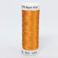Orange Yellow G/ütermann Sulky Rayon 40 500m 1065