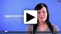 Custom Screen Printing Locations video