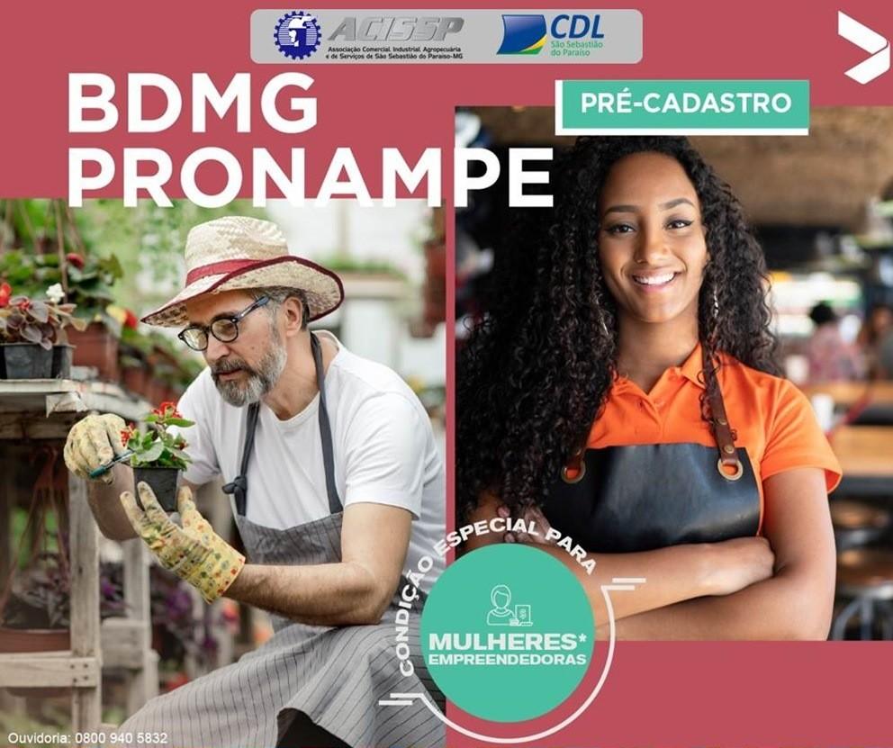A partir de 08/07/2021 estaremos recebendo proposta para inserir no sistema BDMG e solicitar empréstimo do programa BDMG Pronampe.