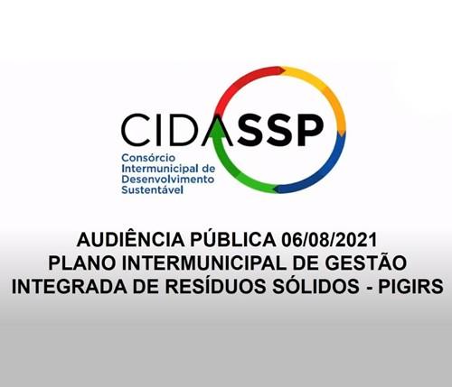 1ª Audiência Pública para a Elaboração do Plano Intermunicipal de Gestão Integrada de Resíduos Sólidos